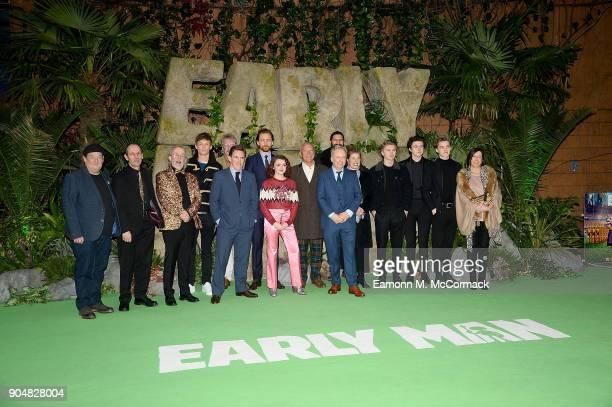 Johnny Vegas Eddie Redmayne Rob Byrdon Maisie Williams Tom Hiddleston Nick Park George Smith Blake Richardson Reece Bibby Carla Shelley and the crew...