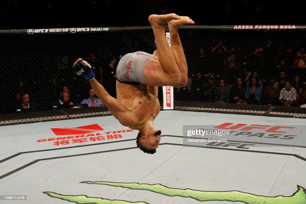 UFC Fight Night: Rountree Jr. v Walker : News Photo
