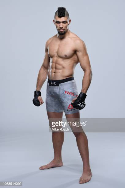 Johnny Walker of Brazil poses for a portrait during a UFC photo session on November 14 2018 in Buenos Aires Argentina