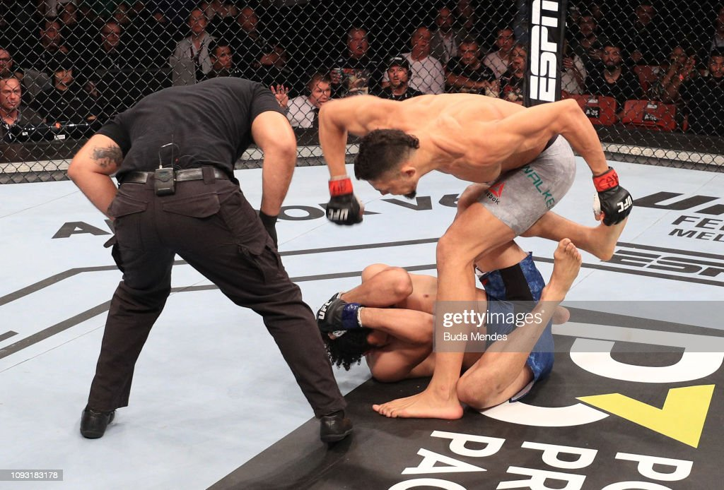 UFC Fight Night: Walker v Ledet : News Photo