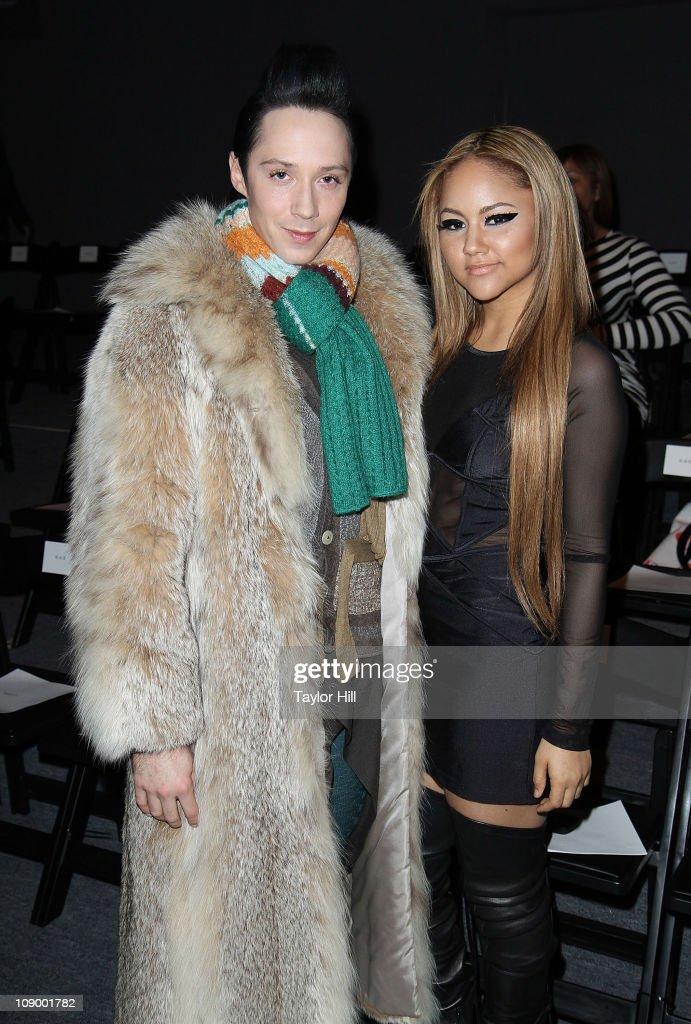 Tadashi Shoji - Front Row & Backstage - Fall 2011 Mercedes-Benz Fashion Week