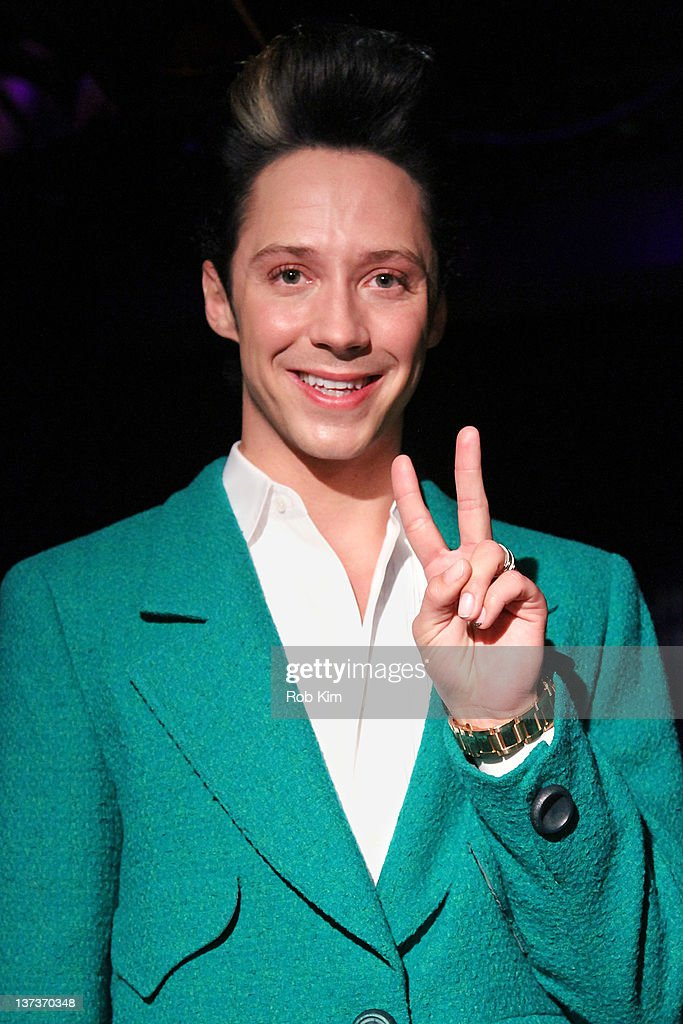 Johnny Weir Press Conference : News Photo