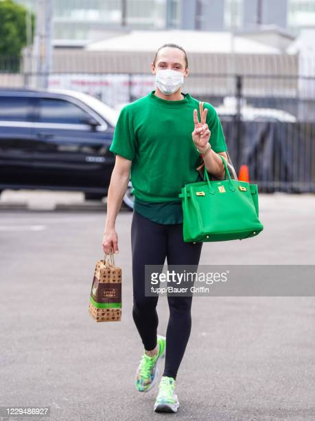 Johnny Weir is seen outside 'Dancing with the Stars' rehearsal studio on November 05, 2020 in Los Angeles, California.