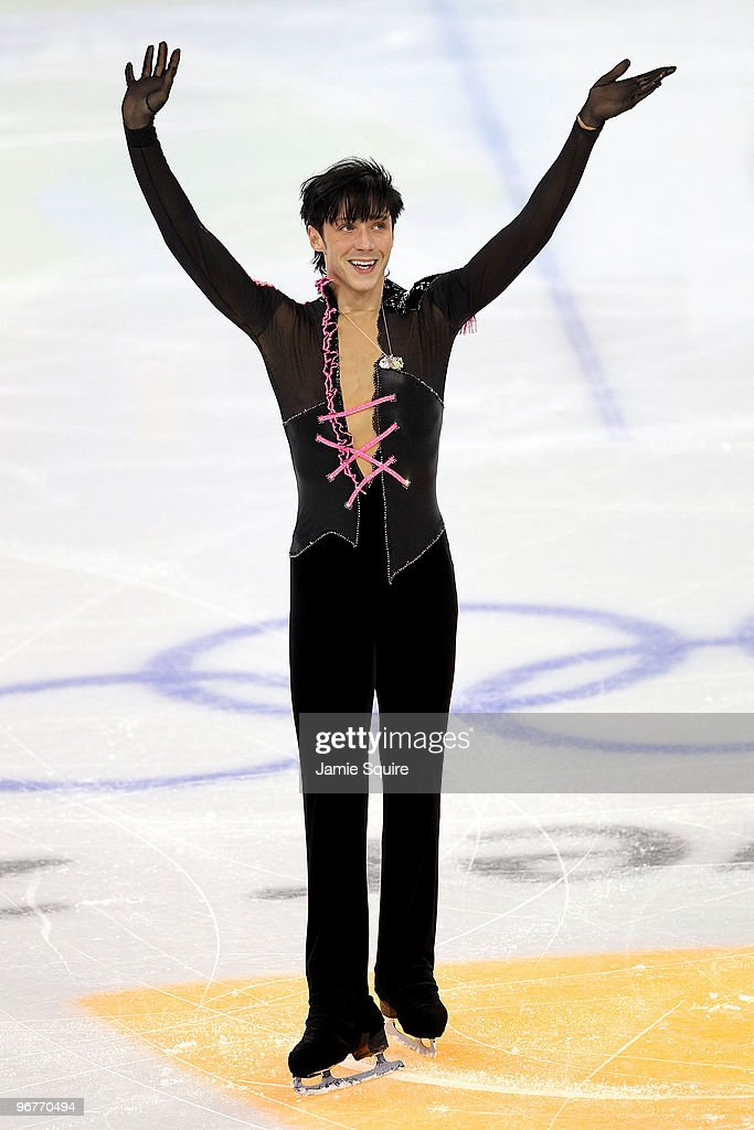 Johnny Weir of the United States competes in the men's figure skating short program on day 5 of the Vancouver 2010 Winter Olympics at the Pacific Coliseum on February 16, 2010 in Vancouver, Canada.