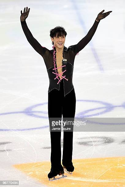 Johnny Weir of the United States competes in the men's figure skating short program on day 5 of the Vancouver 2010 Winter Olympics at the Pacific...
