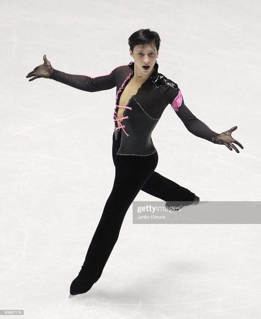 Johnny Weir of the US competes in the Men Short Program on the day two of ISU Grand Prix of Figure Skate Final at Yoyogi National Gymnasium on December 4, 2009 in Tokyo, Japan.