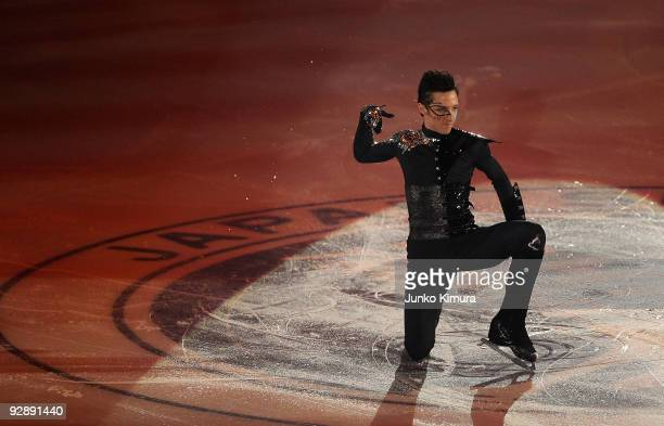 Johnny Weir of the US performs in the Gala Exhibition on the day three of ISU Grand Prix of Figure Skating NHK Trophy at Big Hat on November 8, 2009...