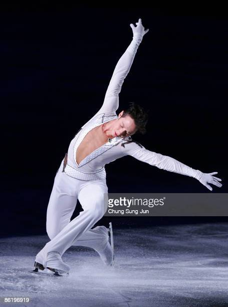 Johnny Weir of USA performs during Festa on Ice 2009 at KINTEX on April 24 2009 in Goyang South Korea