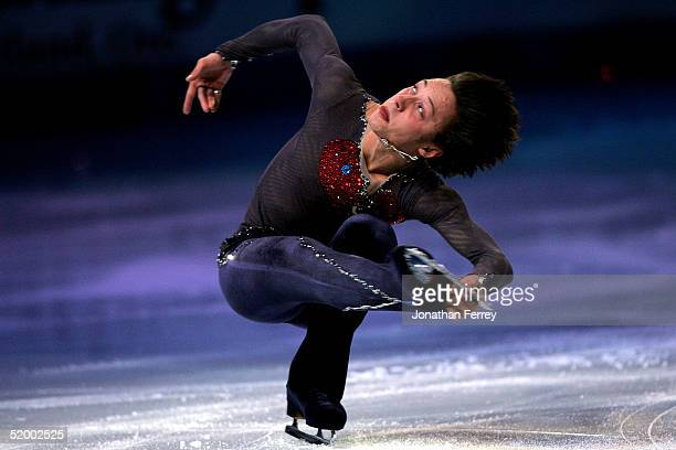 Johnny Weir performs during the Skating Spectacular exhibition after the State Farm US Figure Skating Championships at the Rose Garden on January 16...