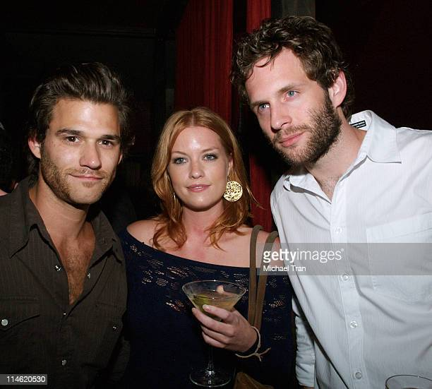 Johnny Whitworth Megan Papin and Glenn Howerton *EXCLUSIVE*