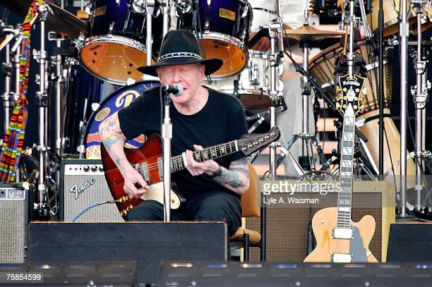 Johnny Winter performs at Eric Clapton's Crossroads Guitar Festival 2007 to benefit the Crossroads Centre in Antigua July 28 2007 in Bridgeview...