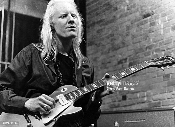 Johnny Winter Photos Et Images De Collection