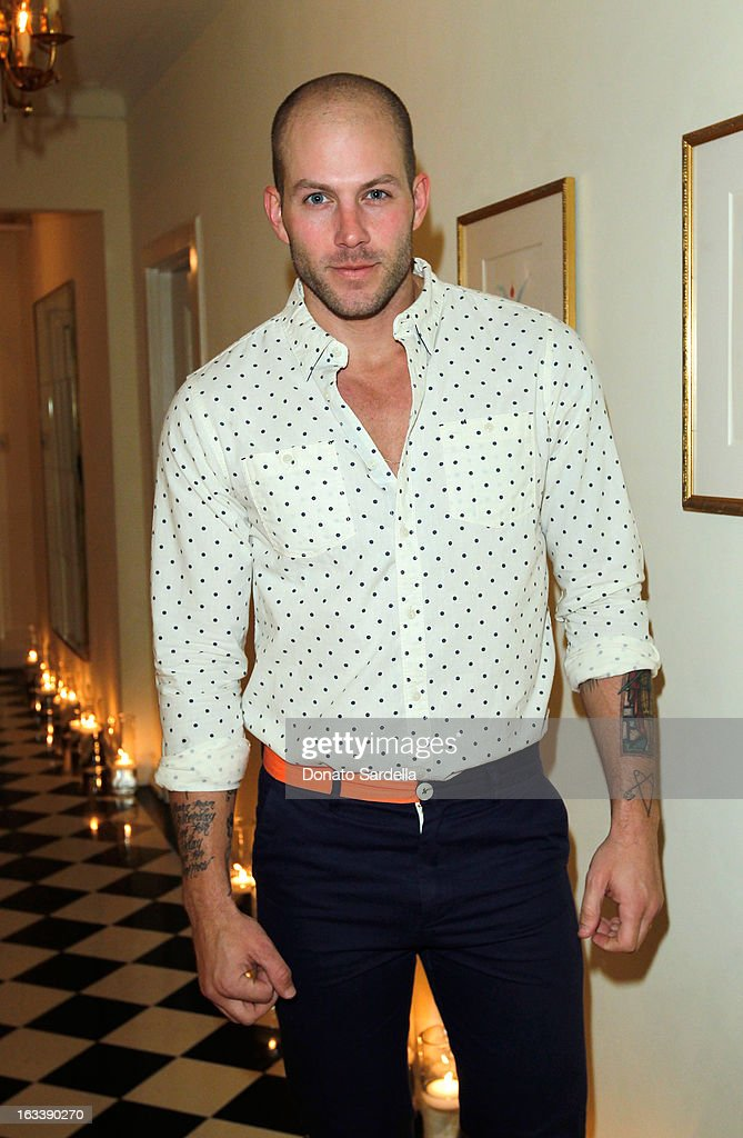 Johnny Wujek attends Joe Fresh private dinner hosted by Joe Mimran and Kate Mara at The Chateau Marmont on March 8, 2013 in Los Angeles, California.