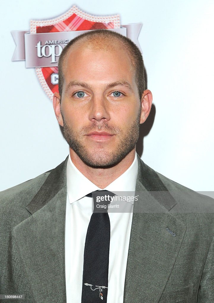 Johnny Wujek attends the 'America's Next Top Model: College Edition, Cycle 19' Premiere at the Tribeca Grand Hotel on August 22, 2012 in New York City.
