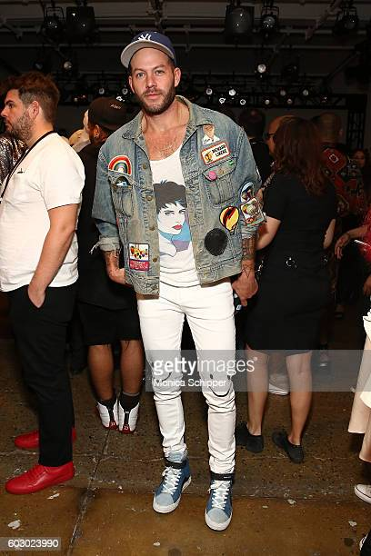 Johnny Wujek attends The Blonds fashion show during MADE Fashion Week September 2016 at Milk Studios on September 11 2016 in New York City