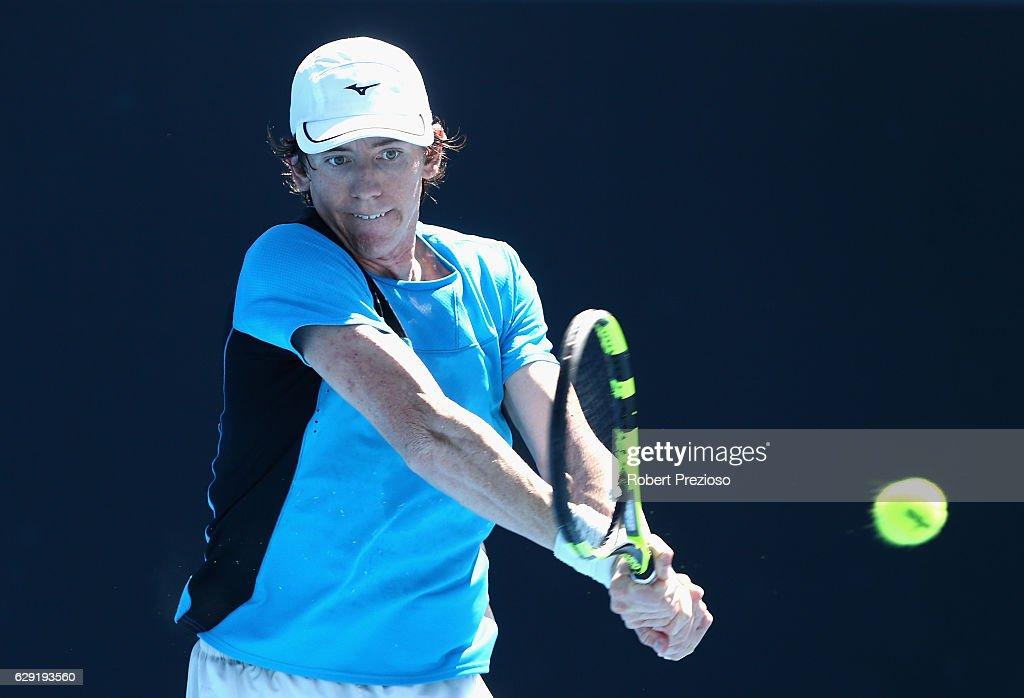 Australian Open December Showdown 2016 : News Photo