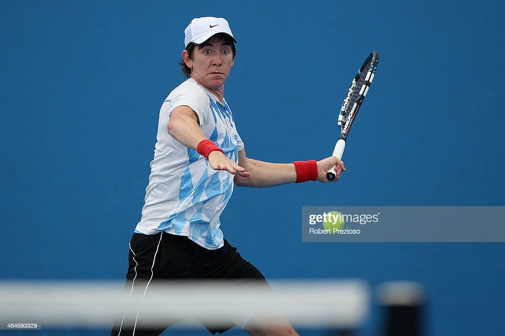 Australian Open 2014 Qualifying : News Photo