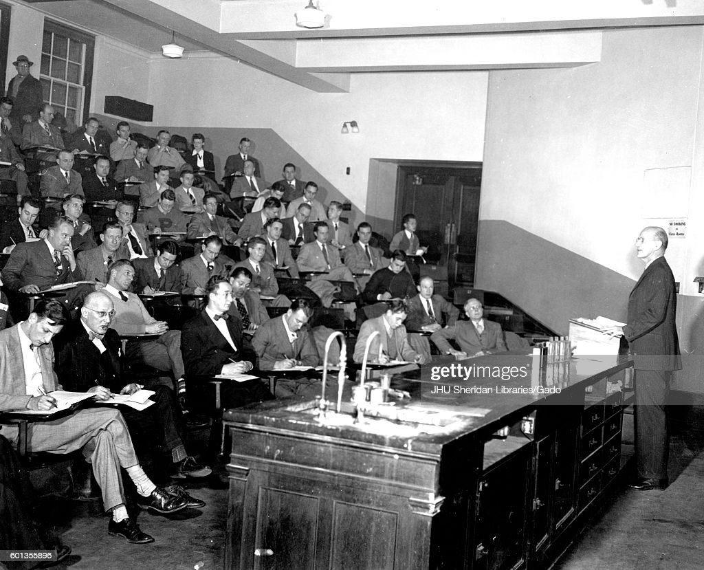 Jhu Evening College Lecture News Photo