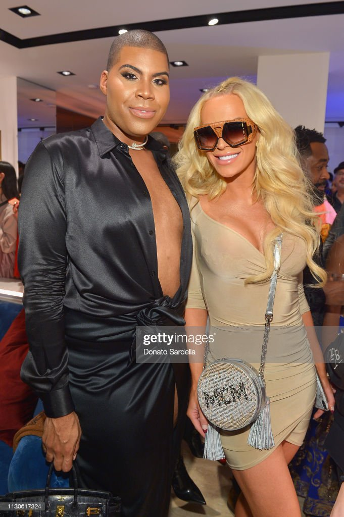 MCM Rodeo Drive Store Grand Opening Event : News Photo