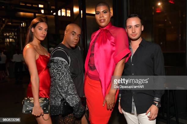 Johnson and guests attend the amfAR GenCure Solstice 2018 on June 21 2018 in New York City