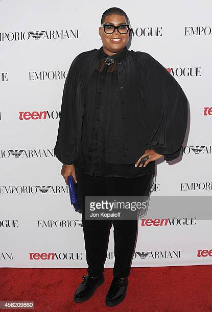 Johnson arrives at the Teen Vogue Young Hollywood Party on September 26 2014 in Los Angeles California