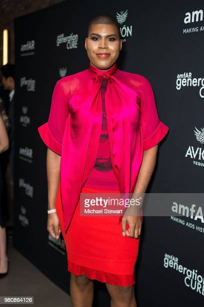 Johnson attends amfAR GenCure Solstice 2018 at SECOND on June 21 2018 in New York City