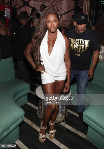 Johnson attends Mark Pitts Bystorm Ent 7th Annual Post BET Awards Party hosted by DJ Khaled on June 25 2017 in Los Angeles California