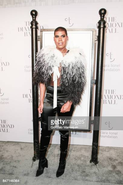 Johnson attends Rihanna's 3rd Annual Diamond Ball at Cipriani Wall Street on September 14 2017 in New York City