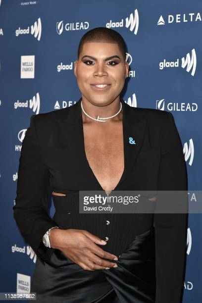 Johnson attends the 30th Annual GLAAD Media Awards at Beverly Hills Hotel on March 28 2019 in Beverly Hills California