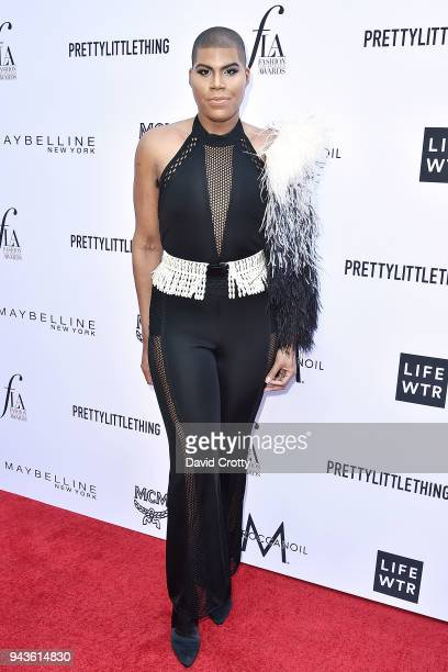 Johnson attends The Daily Front Row's 4th Annual Fashion Los Angeles Awards - Arrivals at The Beverly Hills Hotel on April 8, 2018 in Beverly Hills,...