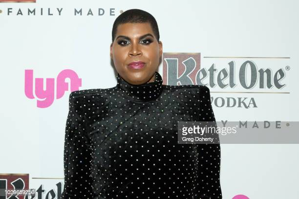 Johnson attends the Ketel One FamilyMade Vodka Celebrates Queer Eye Cast At PreEmmy Party at Kimpton La Peer Hotel on September 8 2018 in West...