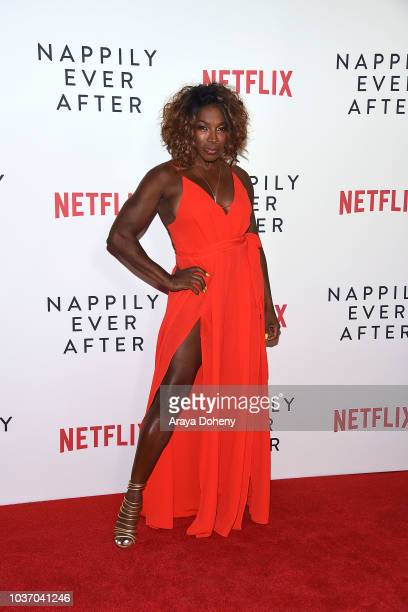 Johnson attends the special screening of Netflix's 'Nappily Ever After' at Harmony Gold on September 20 2018 in Los Angeles California