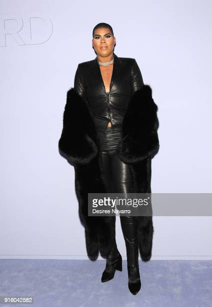 Johnson attends Tom Ford Women's Fall/Winter 2018 fashion show during New York Fashion Week at Park Avenue Armory on February 8 2018 in New York City