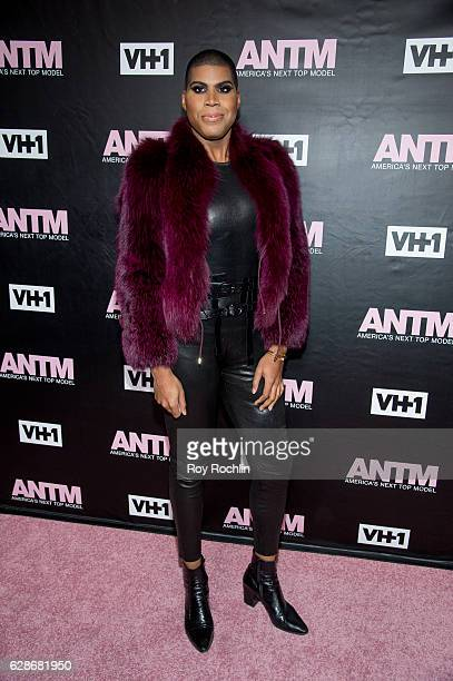 Johnson attends VH1's 'America's Next Top Model' Premiere at Vandal on December 8 2016 in New York City
