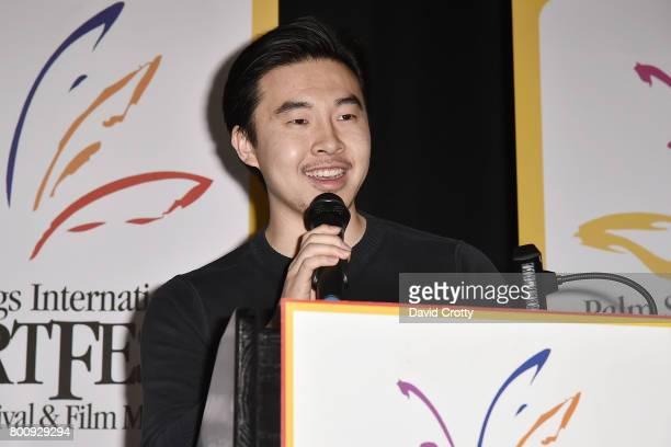 Johnson Cheng attends the 2017 Palm Springs International Festival of Short Films Awards Ceremony on June 25 2017 in Palm Springs California