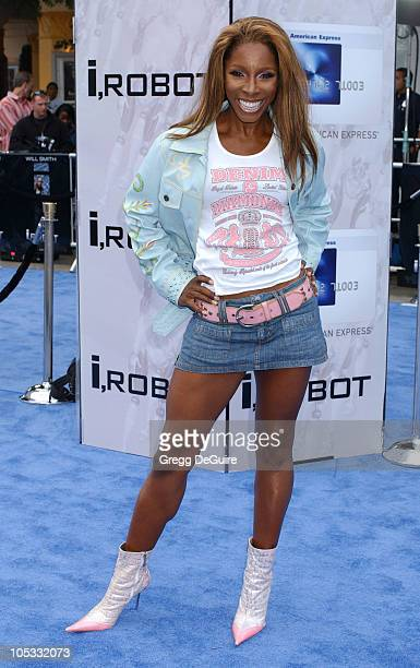 AJ Johnson during 'I ROBOT' World Premiere Arrivals at Mann Village Theatre in Westwood California United States