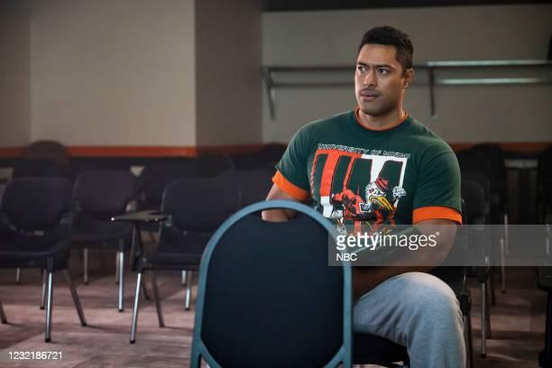 """Johnson & Hopkins"""" Episode 107 -- Pictured: Uli Latukefu as Dwayne --"""