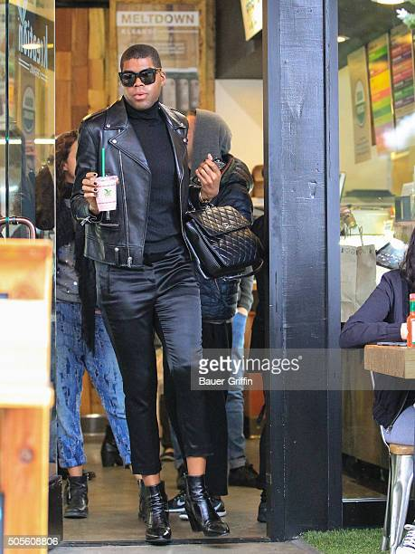 Johnson is seen on January 18 2016 in Los Angeles California