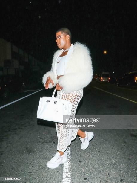 Johnson is seen on July 04 2019 in Los Angeles California