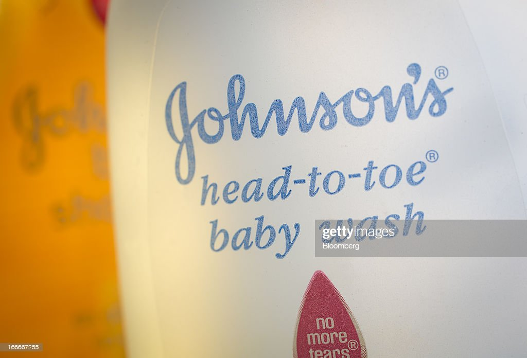 Johnson & Johnson shampoo and baby wash is arranged for a photograph in New York, U.S., on Monday, April 15, 2013. Johnson & Johnson is scheduled to release earnings data on April 16. Photographer: Scott Eells/Bloomberg via Getty Images