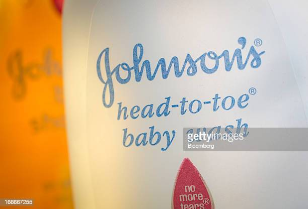 Johnson Johnson shampoo and baby wash is arranged for a photograph in New York US on Monday April 15 2013 Johnson Johnson is scheduled to release...