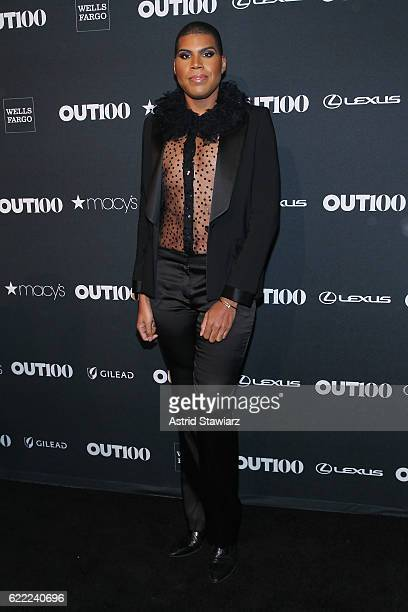 Johnson of E's EJNYC attends the 2016 OUT100 Gala at Metropolitan West on November 10 2016 in New York City
