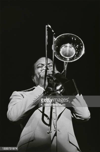 Johnson plays Trombone With Emotion, Tokyo, Japan, circa 1970s.