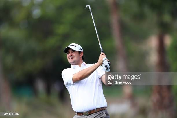 Johnson Wagner of the United States plays a shot on the 13th hole during the second round of The Honda Classic at PGA National Resort and Spa on...