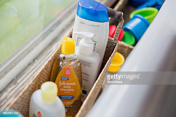 Johnson's baby shampoo is arranged for a photograph in Tiskilwa Illinois US on Thursday July 2 2015 Johnson Johnson is expected to report quarterly...