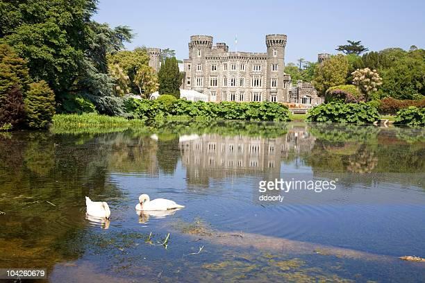 白鳥ジョンズタウン城 - ウェックスフォード州 ストックフォトと画像