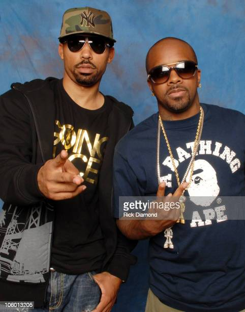 Johnta Austin and Jermaine Dupri during Billboard R B / Hip Hop Conference Day 3 at Renaissance Waverly Hotel in Atlanta Georgia United States