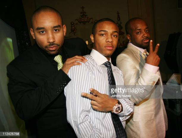 Johnta Austin Bow Wow and Jermaine Dupri during The 49th Annual GRAMMY Awards Jermaine Dupri's Atlanta Invasion 2007 Pre Grammy Celebration Inside at...