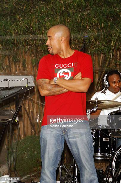Johnta Austin during Jermaine Dupri's Party with Bombay Sapphire for So So Def / Virgin Records New Artist Johnta Austin July 26 2006 at Club...