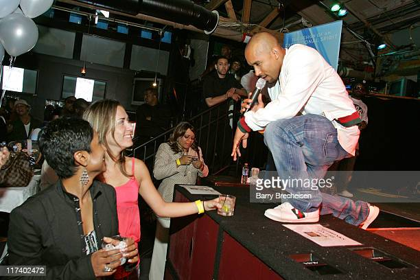 Johnta Austin during Virgin and Bombay Sapphire Chicago Showcase for Johnta Austin with Jermaine Dupri August 8 2006 at Joe's Sports Bar in Chicago...